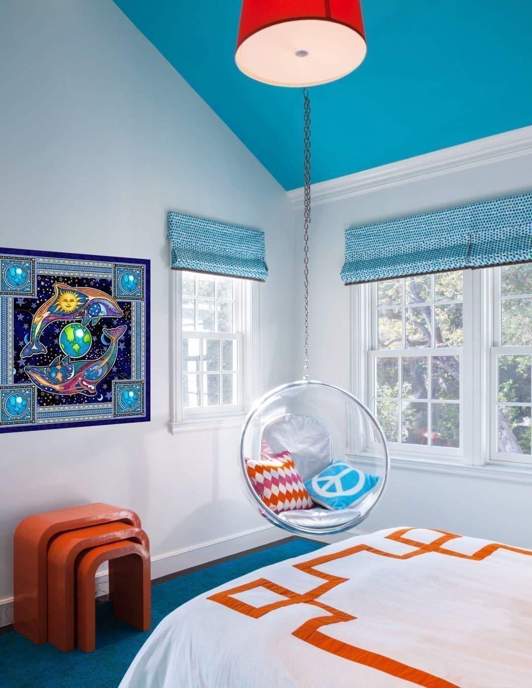 multi sizes Dolphin Celestial Tapestry by Dan Morris