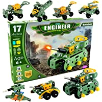 SARTHAM Educational Toys, Building and Construction Set, Battlefield (Age 6 to 12)