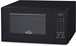 WALSH WSCMSR09BK-09 9 Cu Ft Countertop Microwave Oven Black