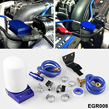Ruien Coolant Filtration System Filter Kit For 2003-07 Ford 6.0L Powerstroke Diesel Turbo