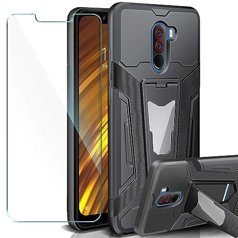 AROYI Xiaomi Pocophone F1 Funda + Protectores de Pantalla ...