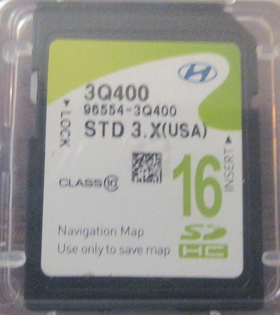 Hyundai Sonata mapa navegación mapa SD tarjeta de memoria externa 96554 3q400: Amazon.es: Hogar