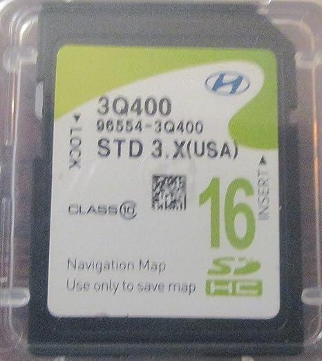 Amazon.com: Hyundai Sonata Mapa Navegación Mapa tarjeta SD ...