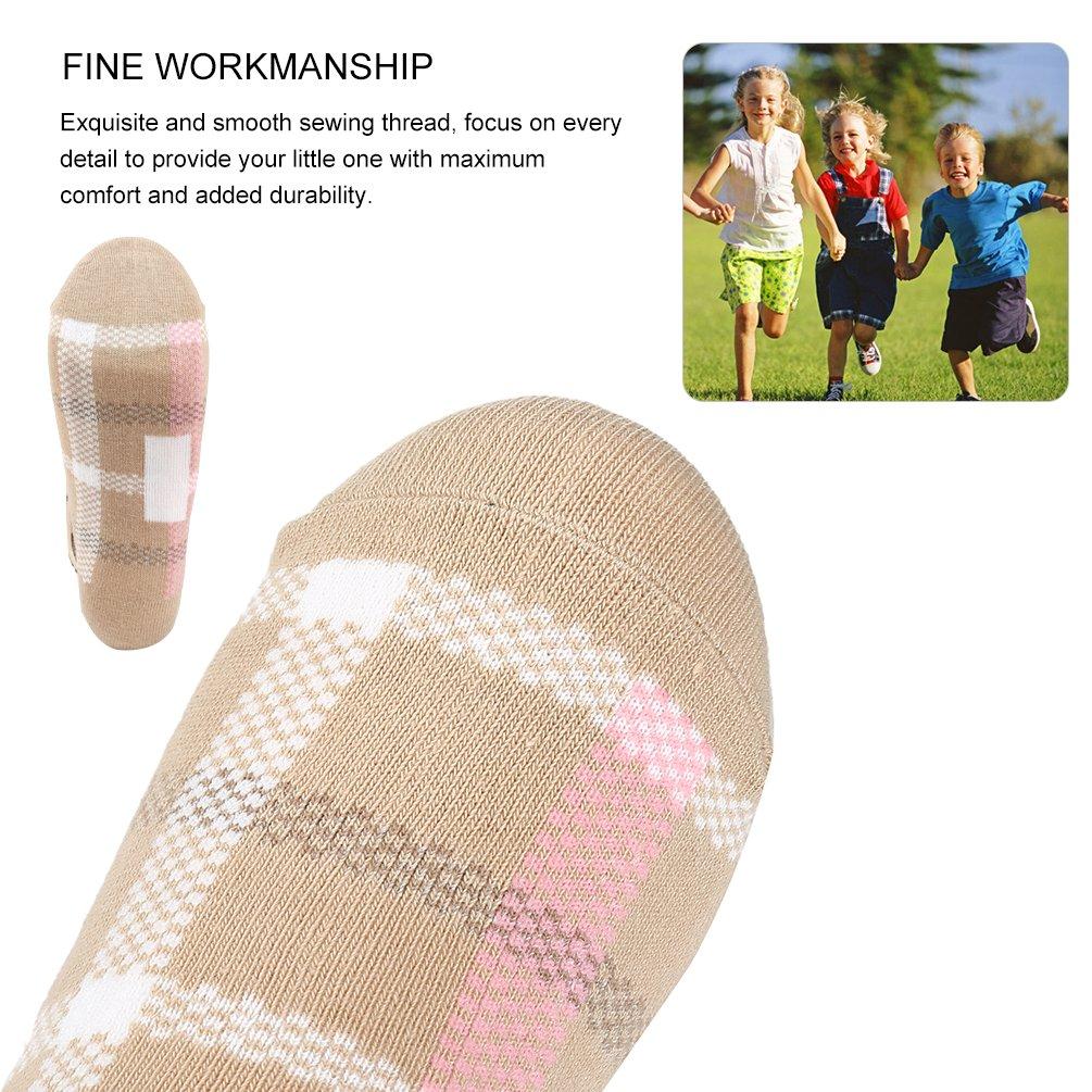 VBG VBIGER Girls Cotton Crew Seamless Socks Cute Novelty for Baby Toddler Kids 10 Pack ¡ by VBG VBIGER (Image #4)