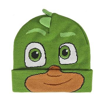 PJ Masks 2200002529 Greg Gekko 3D Effect Character Children s Beanie ... 717acc74d29d
