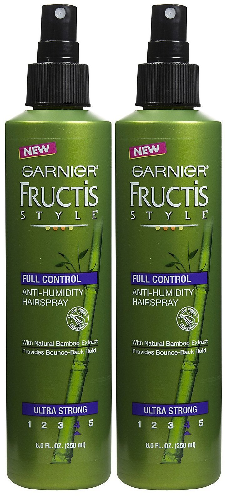 Garnier Fructis Full Control Non-Aerosol Hairspray, Ultra Strong Hold, 8.5 oz, 2 pk