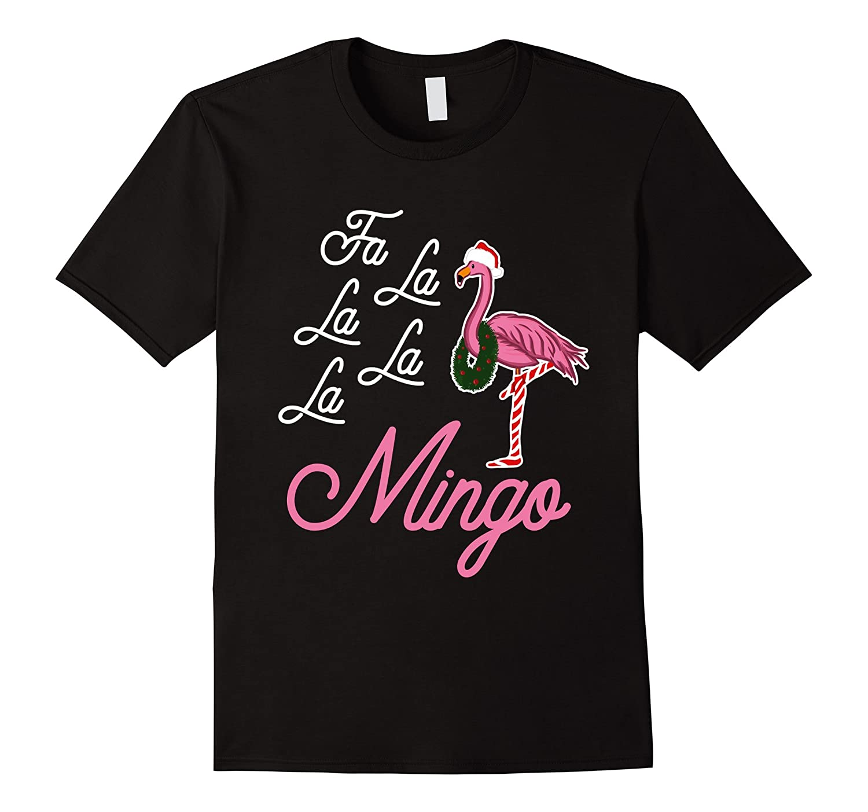 flamingo christmas shirt funny xmas gifts - Men Women Kids-FL