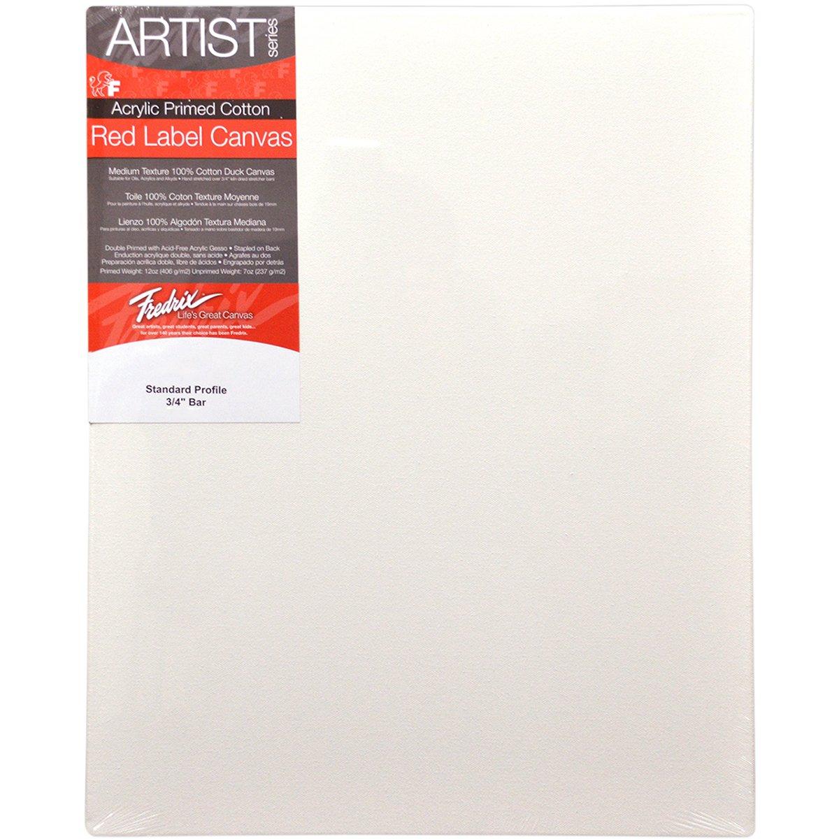 Pro-Art Canvas Tara Fredrix Stretched Canvas-14-inch x 18-inch 5020
