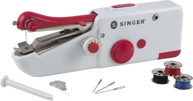 Best Looking Sewing Machine: SINGER 01663 Stitch Sew Quick Portable Mending Machine