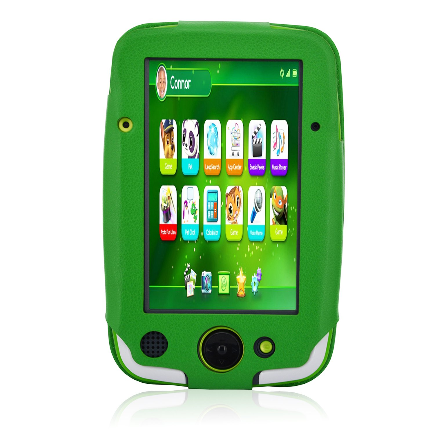 ACdream LeapPad Platinum Case, PU Leather Cover Case for LeapFrog LeapPad Platinum Kids Learning Tablet (NOT FIT LeapPad3), Green by ACdream (Image #7)