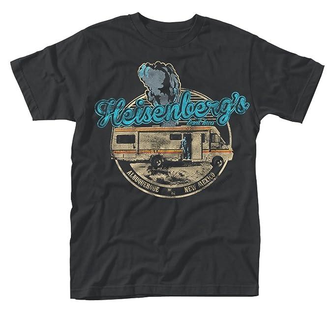 Plastic Head Breaking Bad Desert Tours, Camiseta para Hombre, Negro (Black),