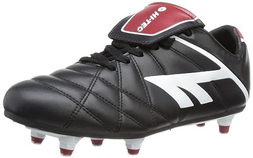 Hi-Tec Hi-Te League Pro Si, Men Football Competition Shoes, Black