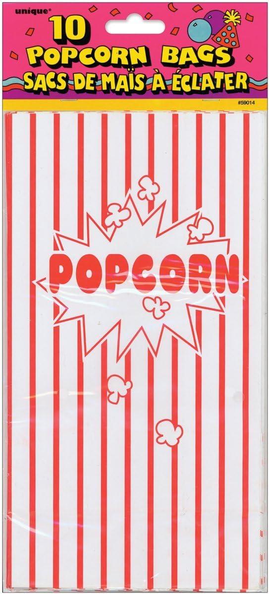 Stalwart v-84464/popcorn sacchetti di carta confezione da 10