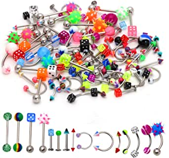 MIXED Lot 25 x NEW Body Jewellery Items All Different Clearance End of Lines