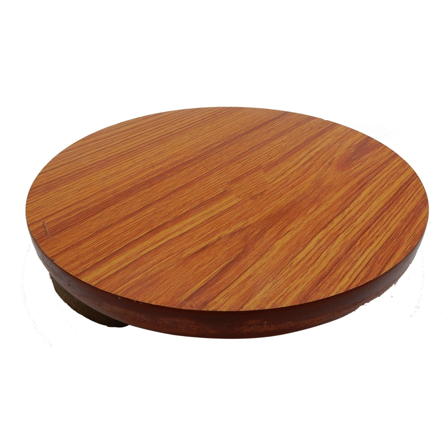 Wooden Board Perfect for Making Chapati Kitchen Accessory Roti Maker Serving Board Brown Color Size 9 X 9 Inch