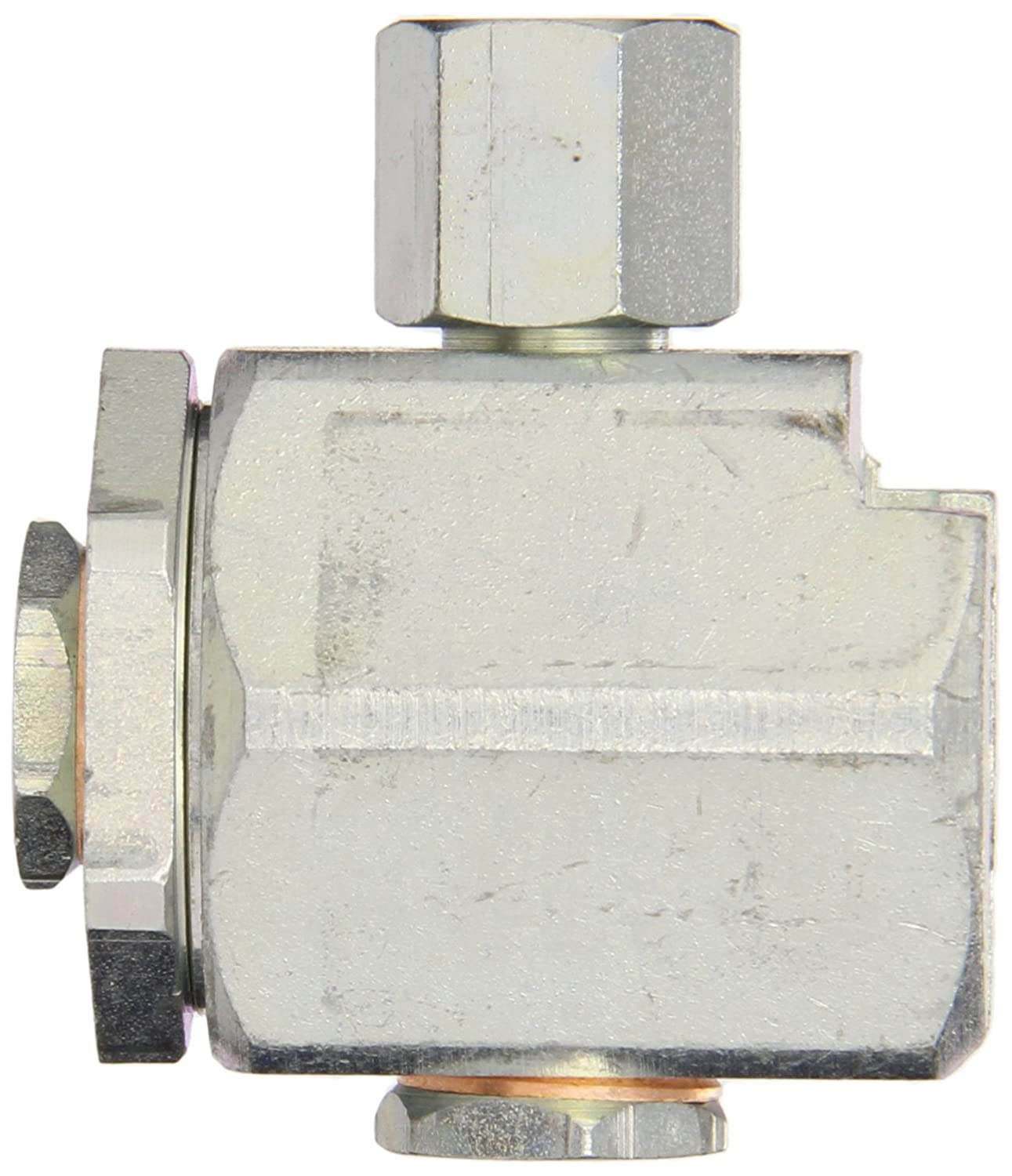 Alemite 304300-A Button Head Coupler Giant Pull-On Type Use with Standard or Giant Button Head Fittings 1//8 Female NPTF 1//8 Female NPTF