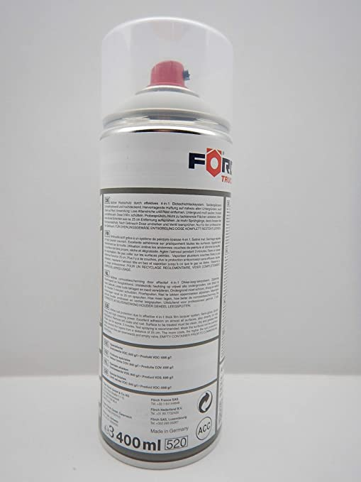 Förch 4 In 1 Arktikweiss 9147 Mercedes Dickschichtlack Lack Spray Spraydose 400ml 1 Auto