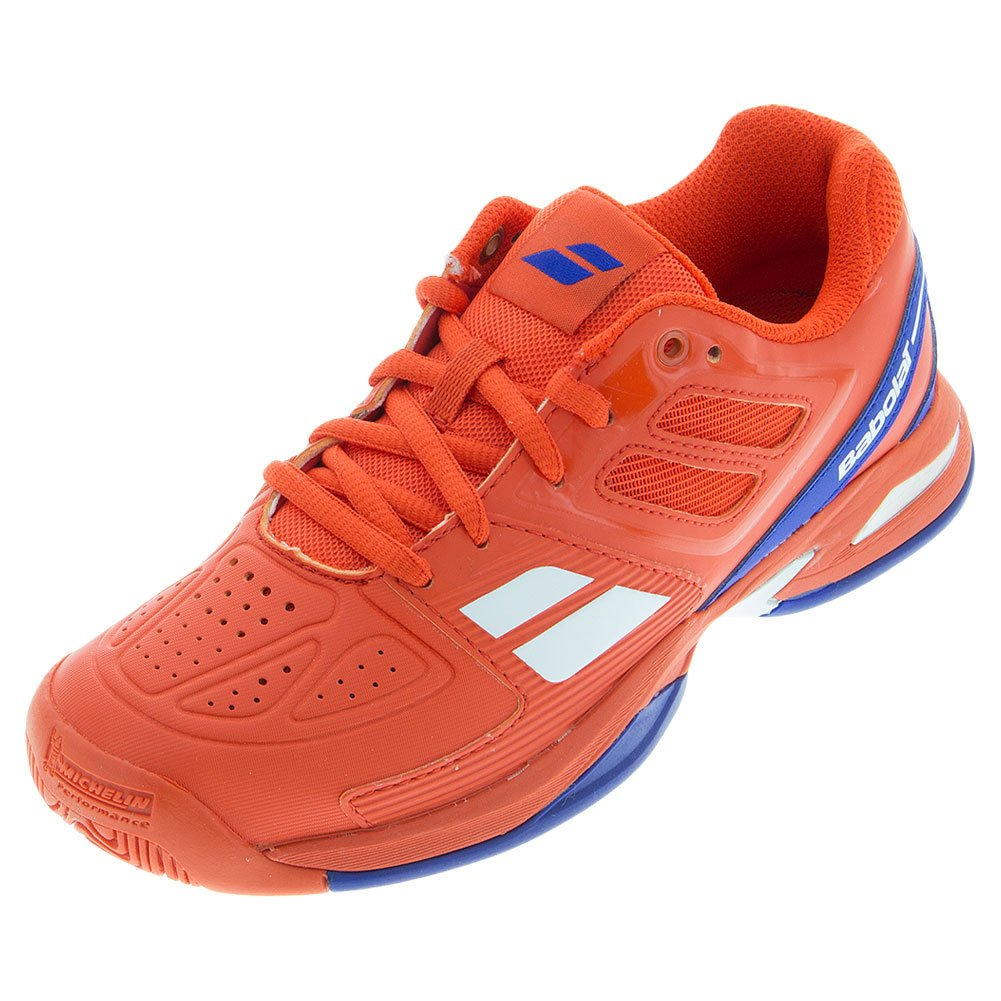 Babolat Propulse Team All Court Junior Tennis Shoes Red (3.5)