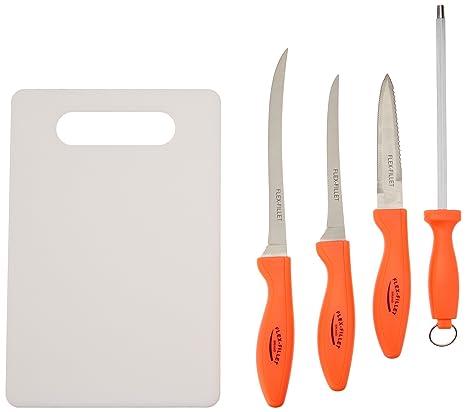 Amazon.com: BF sistemas skfish6 Flex Filete 5 pieza Pesca ...