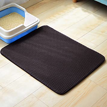 Starter Cojín de gato para mascotas - Cat Litter Mat Cat Litter Trapper, Double Waterproof