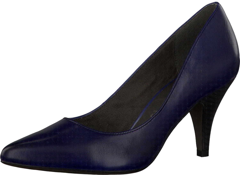 Tamaris 22423, Damen Pumps, Blau Blu (Dunkelblau) Größe