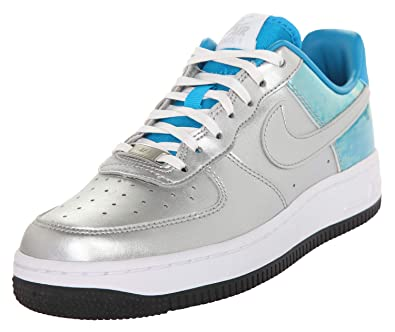 Nike Damen Sneakers WMNS Air Force 1 07 PRM QS Silber