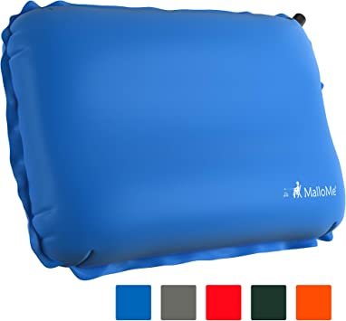 Inflatable Camping Pillow Compressible Ultralight Portable Travel Air Pillow