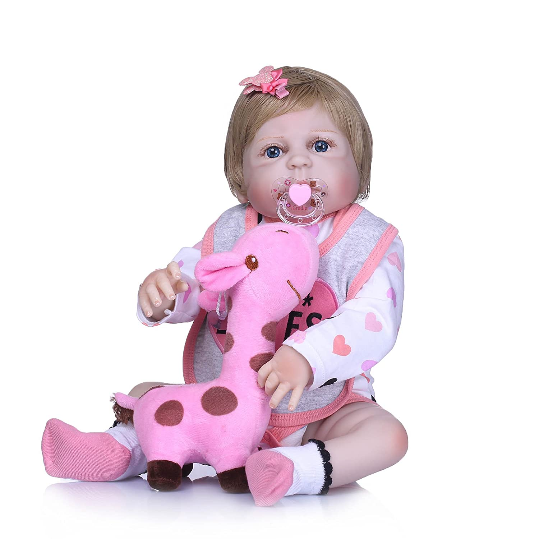 ピンキーRealistic Looking B07FXY9KPY 23インチ57 cmフルボディソフトシリコンベビー人形Lifelike Real 23インチ57 Touch Rebornベビーガール人形ハンドメイド新生児赤ちゃん人形かわいい幼児用解剖学的誕生日andクリスマスギフト Looking B07FXY9KPY, 中部特機産業:7ee59c11 --- kutter.pl