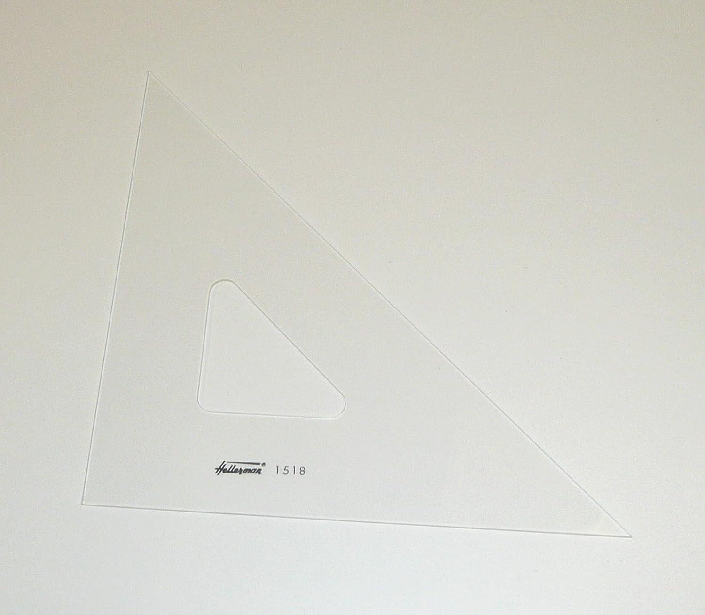 Hellerman 285mm Professional Set Square 45 Degrees