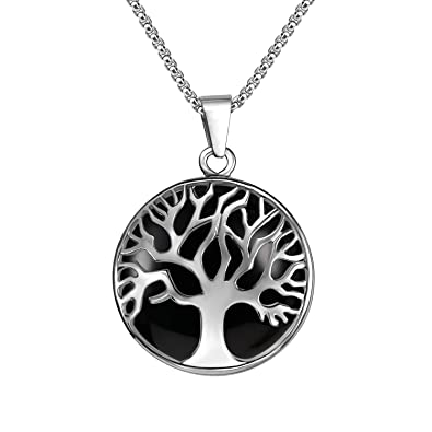 Amazon.com: JADENOVA - Collar con colgante de árbol de la ...
