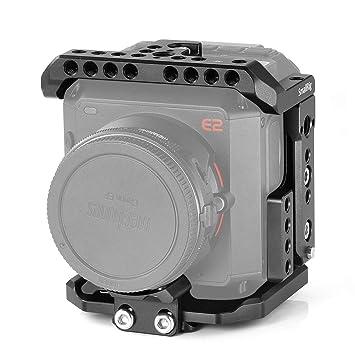 Amazon.com: SMALLRIG Jaula para cámara Z cam E2, jaula de ...
