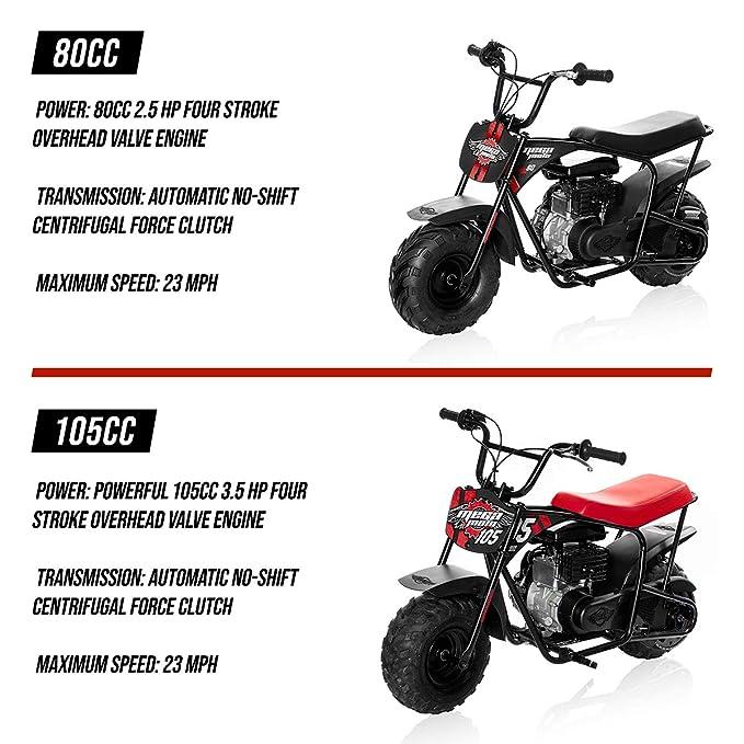Monster Moto Classic Mini Bicicleta - Montado en los Estados Unidos: Amazon.es: Coche y moto