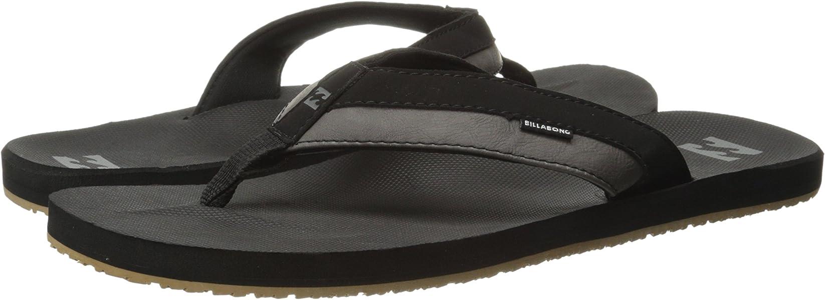 e74c212dbfe9 Amazon.com  Billabong Men s All Day Impact Sandals Black 8  Shoes