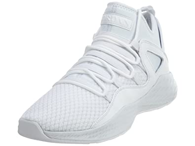 sports shoes fe454 b9cb9 Jordan Men s Formula 23 Basketball Shoes White White-Pure Platinum (8 US)   Buy Online at Low Prices in India - Amazon.in