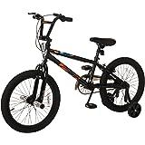 "Mongoose Boys Switch 18"" Wheel Bicycle, Black"