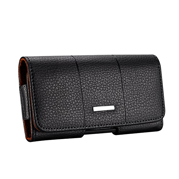 best service 1ceb9 ee29f Fit for iPhone 8 Holster iPhone 7 Holster iPhone 6S 6 Belt Holster Case  Pouch 4.7 inch Premium Genuine Leather with Belt Clip Belt Loop Fit with  Slim ...