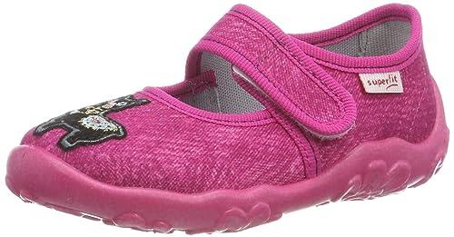 Schuhe Superfit Mädchen Bonny Niedrige Hausschuhe Hausschuhe
