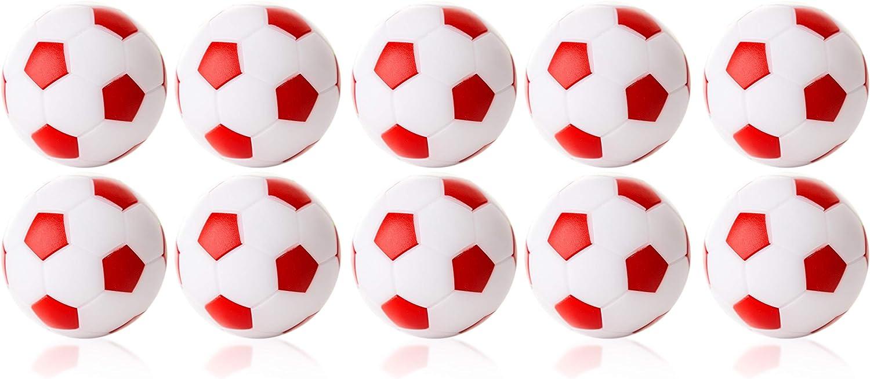 Manuel Gil Bola futbolin Robertson Blanco Rojo 24gr 35mm 10unid ...