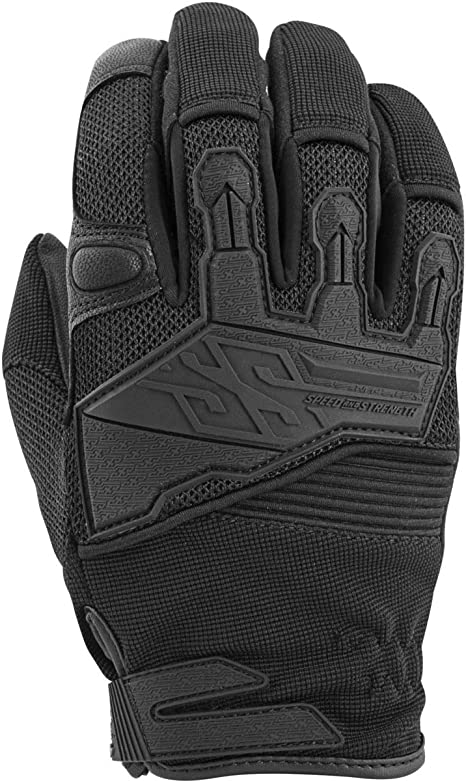 Black Speed and Strength The Quick And The Dead Mens Street Motorcycle Gloves 2X-Large