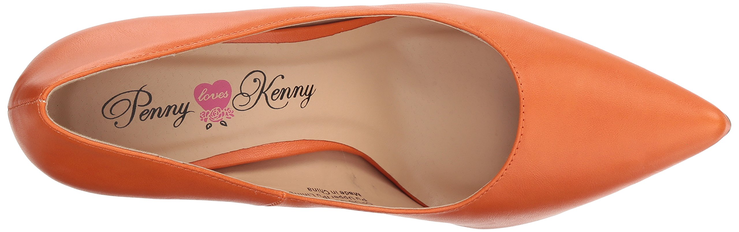 Penny Loves Kenny Women's Opus GL Pump, Orange, 13 Wide US by Penny Loves Kenny (Image #7)