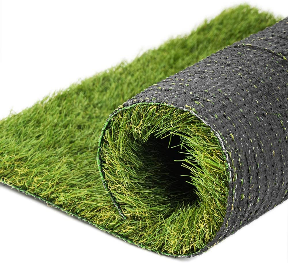 NAHI Artificial Grass Thick Fake Grass, Realistic Synthetic Turf mat, 1.38