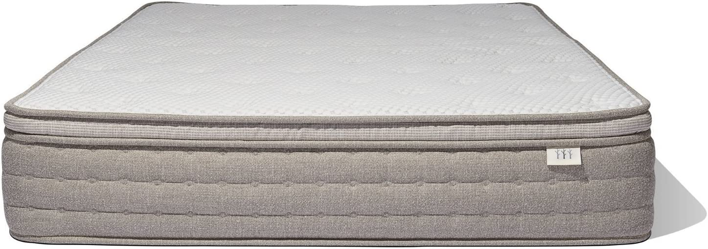 Brentwood Home Palmetto Natural Latex Mattress, Made in California, Twin XL