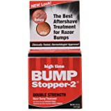 Bump Stopper-2 Razor Bump Treatment, Double Strength Formula - .5 oz