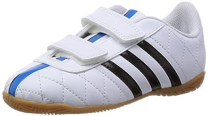 new arrival 02157 b4cc8 adidas Fussballschuhe 11questra IN J Klett 30 ftwr whitecore blacksolar  blu.