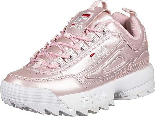 Fila Scarpe Donna Disruptor m Low wmn Silver Argento 1010608 3VW: Amazon.es: Zapatos y complementos