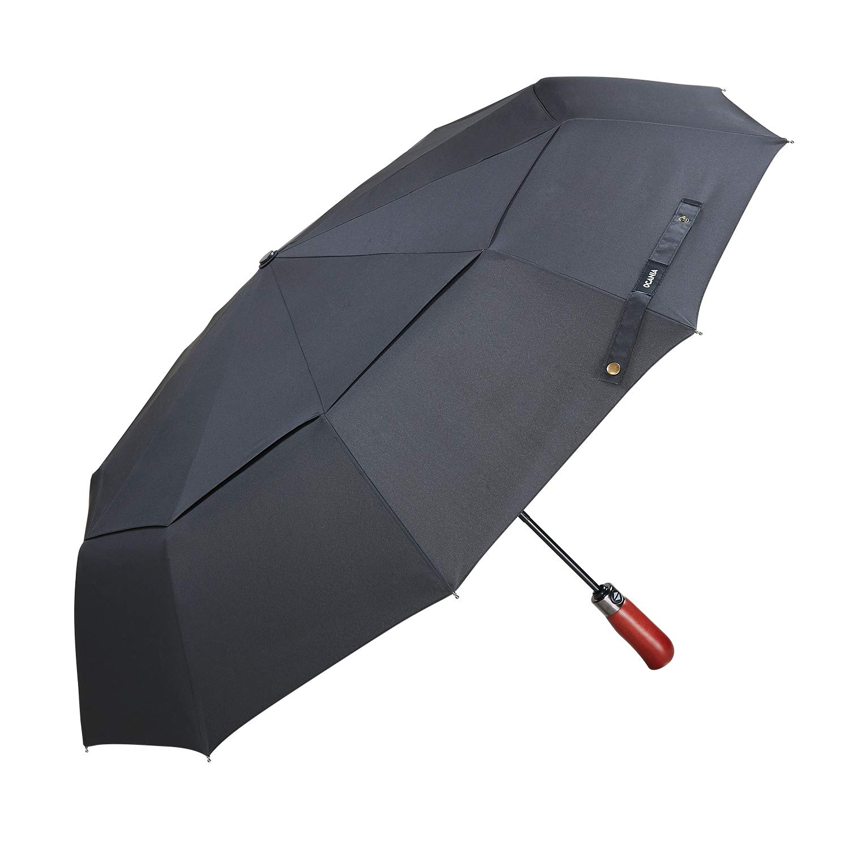 Paraguas invertido grande - Paraguas reversible inside out umbrella - Mango de Paraguas inverso en forma de la letra C con mejor diseño para llevarlo ...