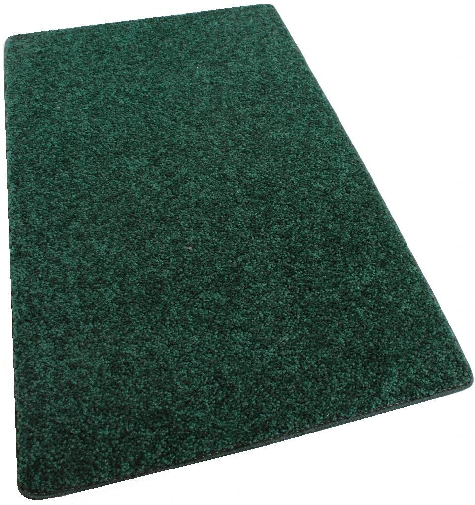 エリアラグカーペット。 エメラルドフォレストグリーン30オンス。 厚さ1⁄2インチ。 100%ポリエステル繊維、中密度、ソフトで丈夫。 複数のサイズ、形状と鮮やかな色。 HALF ROUND 10'X5' グリーン B0078EXI7S EMERALD FORREST GREEN,HALF ROUND 10'X5'