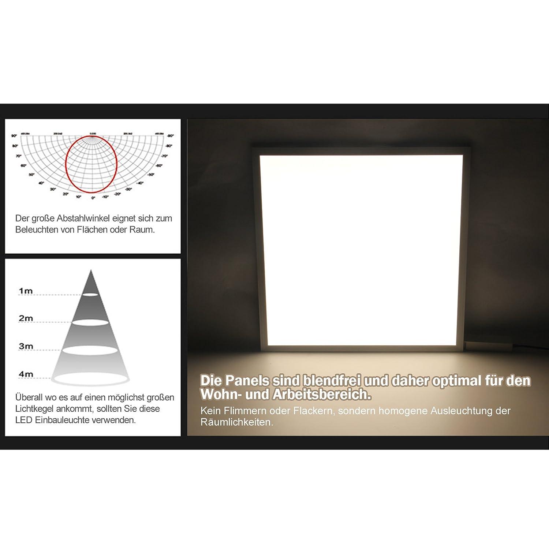 [3er Pack zum zum zum Sparpreis] OUBO LED Panel Deckenleuchte 120x30cm Kaltweiß, 36W, 3000 lumen, 6000K, dünn Ultraslim, Weißer Rahmen, Wandleuchte für Wohnraum, Bad, Flur, Wand, Decke, Küchen 87d268