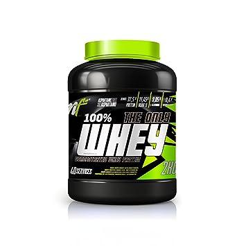 Menu Fitness (Proteina) - The Only Whey - 5kg - (Bizcocho choco-nata): Amazon.es: Salud y cuidado personal