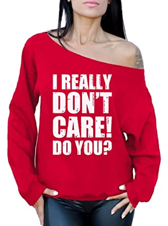 44b131a6a Awkward Styles Trump Flag Off Shoulder Sweatshirt Funny Republican Gifts  for Her I Really Don'